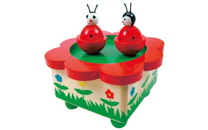 Hrací skříňka - berušky