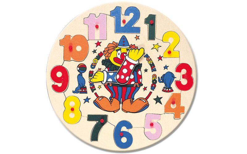 BINO - hodiny s klaunem