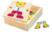 Zobrazit detail - Bino Šatní skříň Medvídek