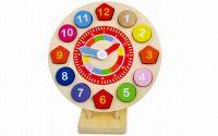 Zobrazit detail - Dřevěné hodiny