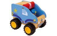 Zobrazit detail - Dřevěné policejní auto