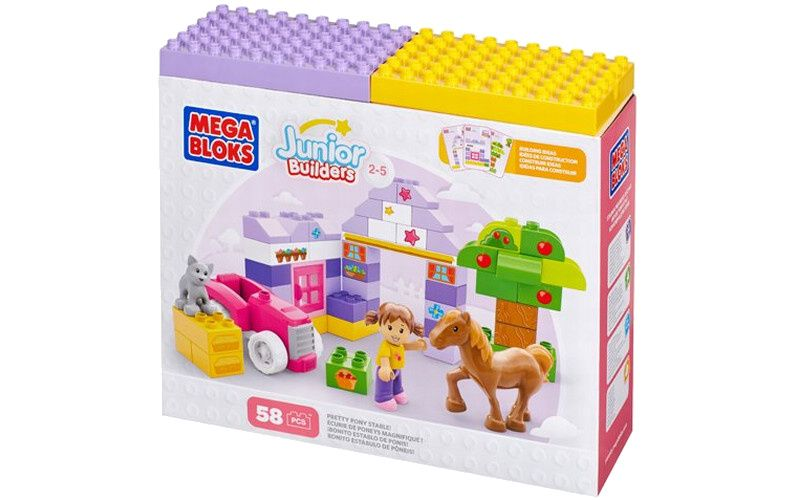 Mega Bloks Junior - Stáj pro poníka