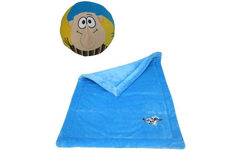 Sada deka + polštář Křemílek a Vochomůrka