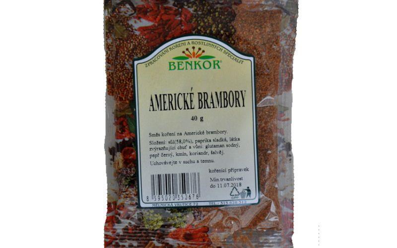 Benkor Americké brambory 40g