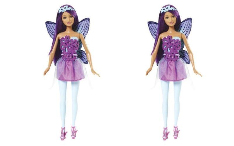 Mattel Barbie Víla Fialové vlasy