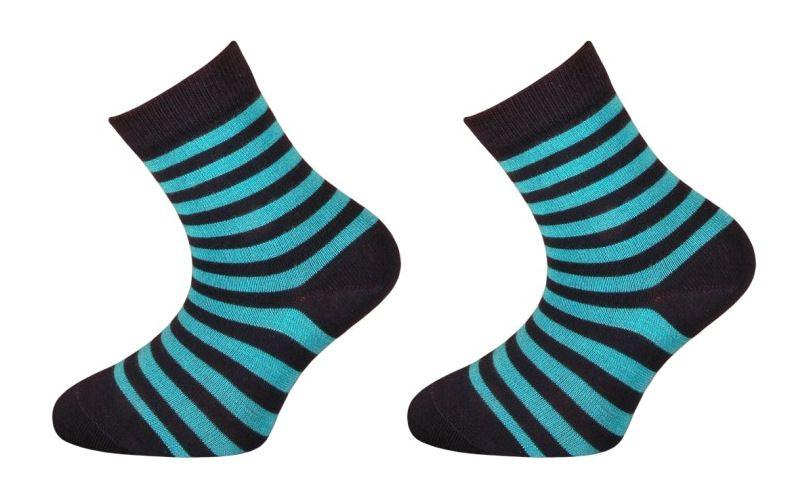 Dětské bambusové ponožky BABAR - modré Velikost 16-18