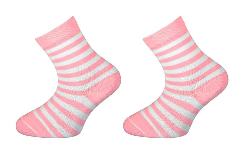 Dětské bambusové ponožky BABAR - růžové Velikost 16-18