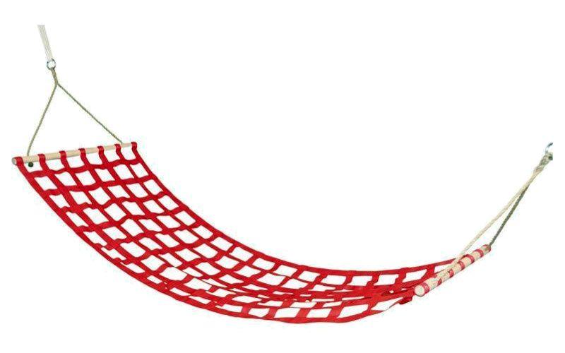 Houpací síť červená