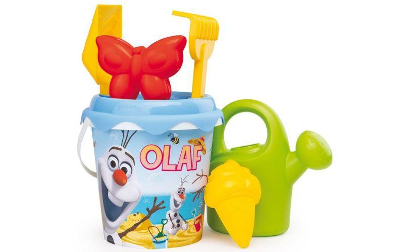 Kyblíček Olaf s konvičkou a příslušenstvím