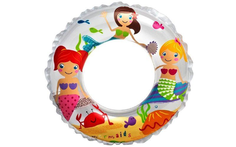 Nafukovací kruh Mořská panna 61 cm
