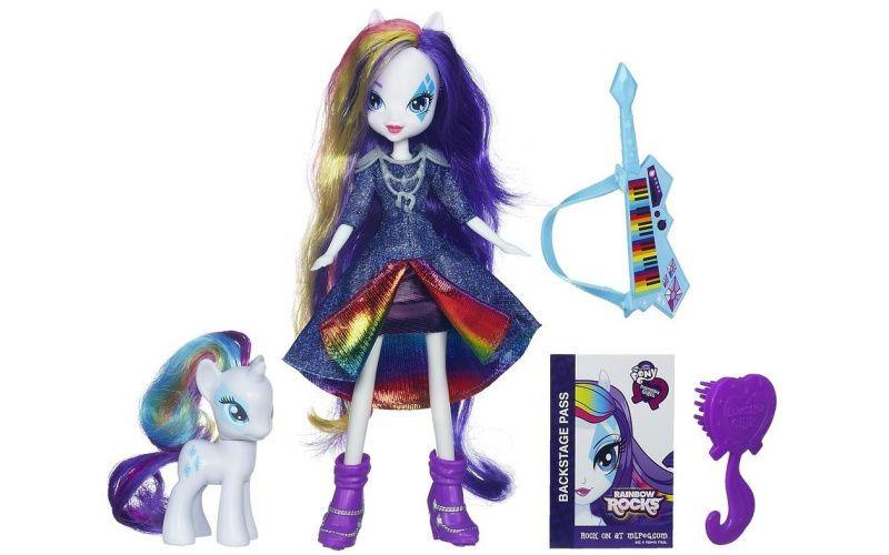 My Little Pony - Equestria Girls Rarity s poníkem