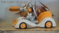 Gormiti Auto s figurkou The Lord of Light 1:24