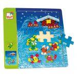 Rákosníček - puzzle na desce