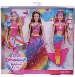 Barbie Dreamtopia Duhová Princezna, Víla a Mořská panna