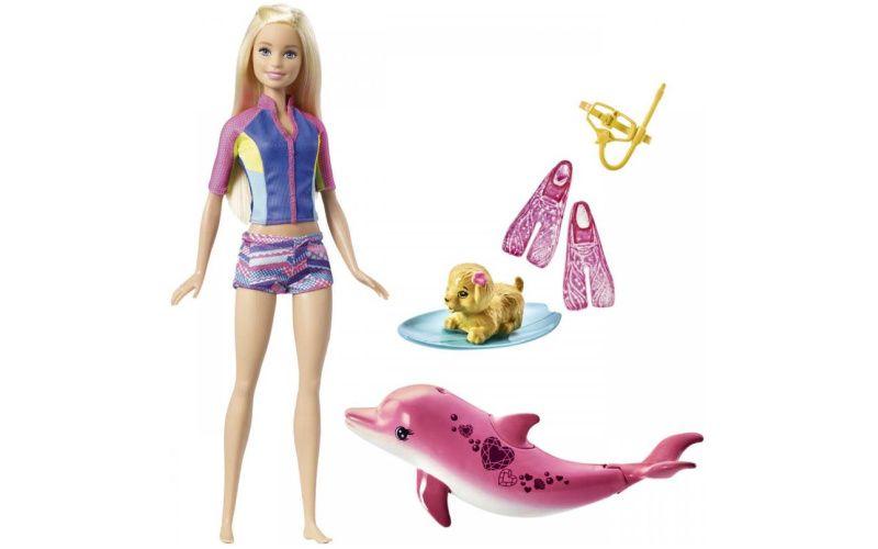 Barbie panenka Magický delfín