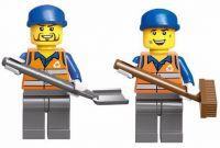 Enlighten Brick 1111 Popelářský Vůz 196 dílů