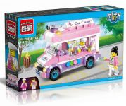 Enlighten Brick 1112 Zmrzlinářská Dodávka 213 dílů