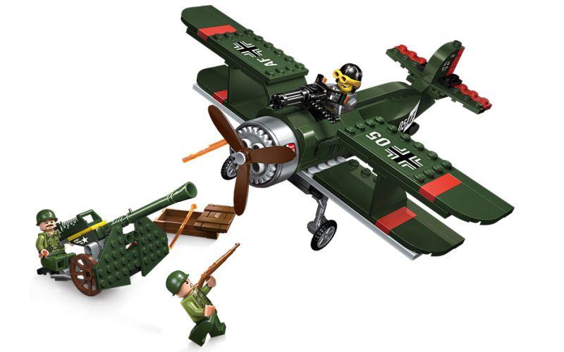 Enlighten Brick 1705 Vojenské Letadlo 187 dílů