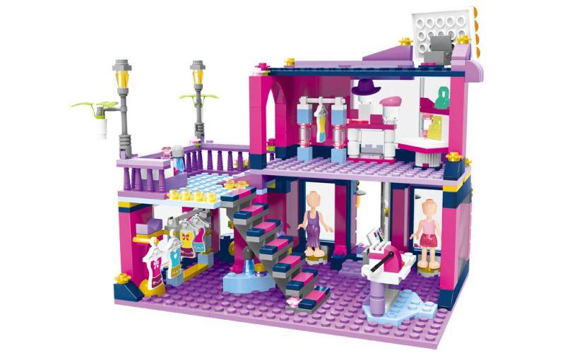 Enlighten Brick 2005 Dům Módy 456 dílů