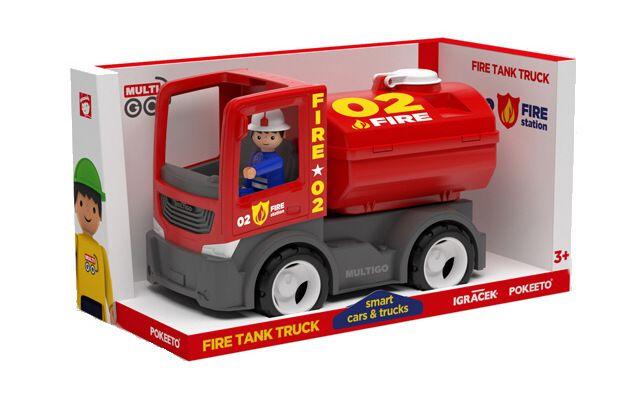 Efko IGRÁČEK MULTIGO Cisterna s hasičem