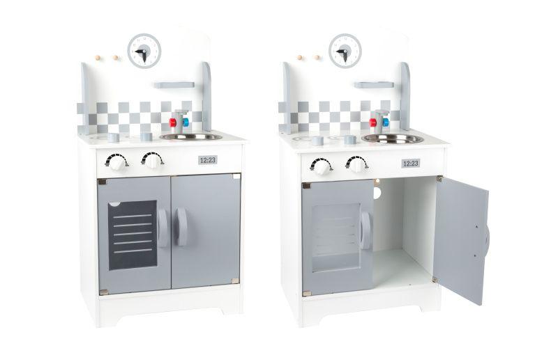 Legler Kuchyňka s nástěnnými hodinami