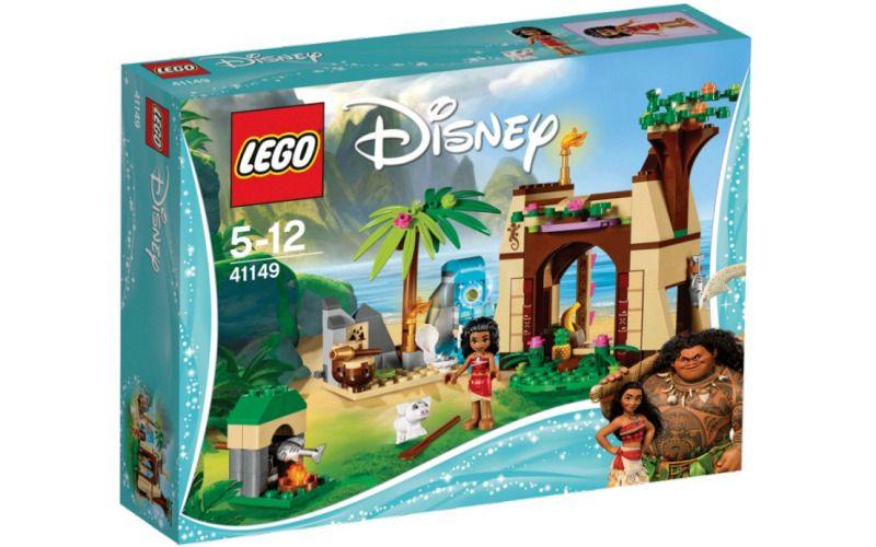Lego LEGO Disney Princess 41149 Vaiana a její dobrodružství na ostrově