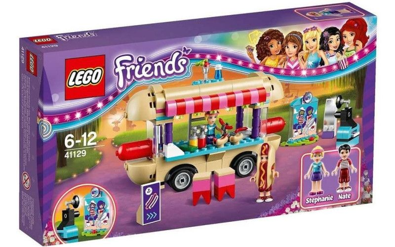 Lego LEGO Friends 41129 Stánek s Hot dogy