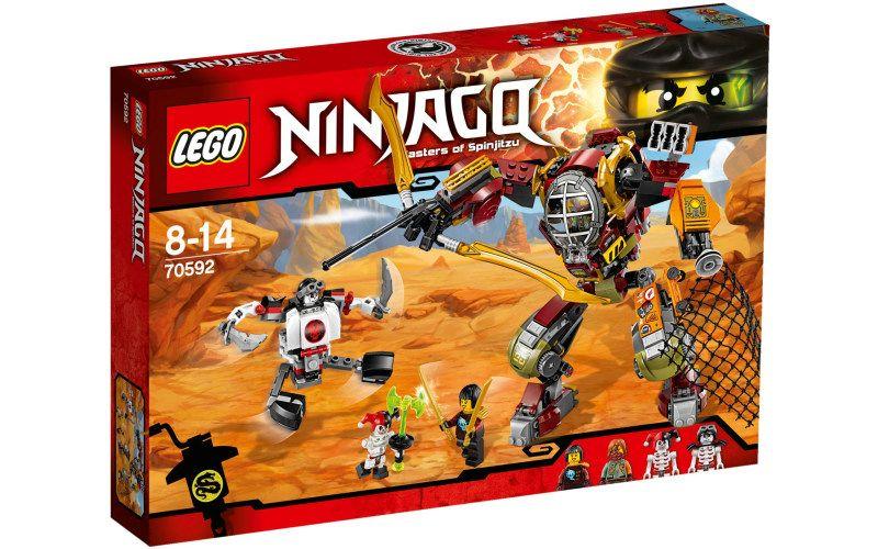 Lego LEGO Ninjago 70592 Robot Salvage M.E.C.