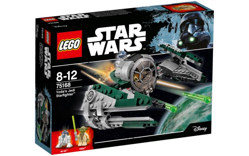 Lego LEGO Star Wars 75168 Yodova jediská stíhačka