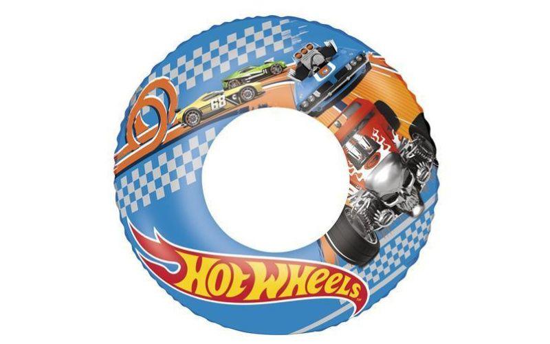 Nafukovací kruh Hot Wheels, průměr 56cm