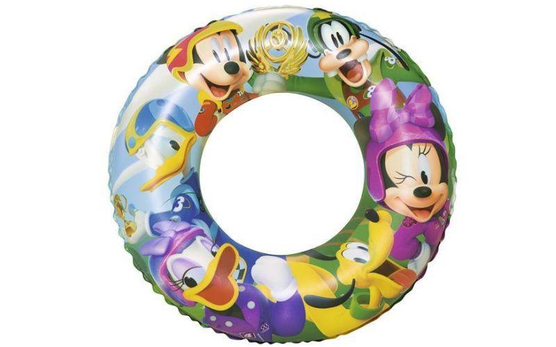 BestWay Nafukovací kruh - Mickey and the Roadster racers, průměr 56 cm