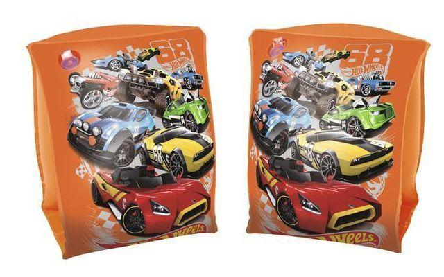 Nafukovací rukávky - Hot Wheels 23cm x 15cm