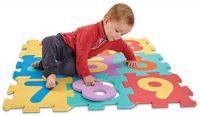Pěnové puzzle s čísly