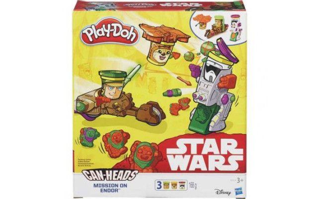 Hasbro Play Doh Star Wars vozidla trojbalení mise na Endoru