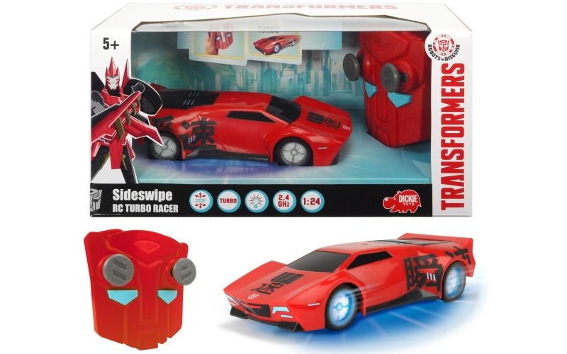 RC Transformers Turbo Racer Sideswipe
