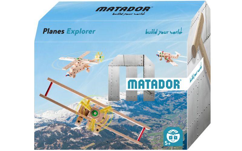 Stavebnice Matador Planes