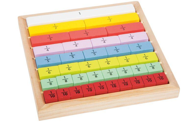 Vzdělávací hra Nauč se zlomky