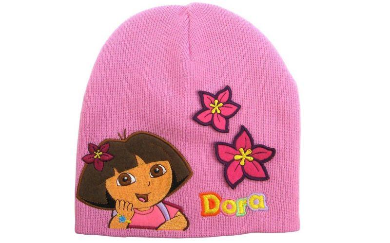 Zimní čepice Dora růžová