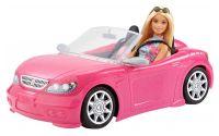 Barbie v kabrioletu