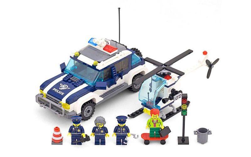 Enlighten Brick 1117 Silniční Policie 394 dílů
