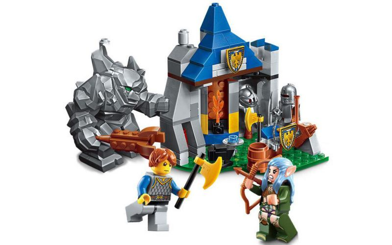 Enlighten Brick 2303 Kamenné Stanovišté 134 dílů
