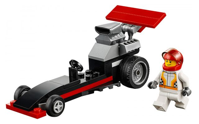 LEGO City 30358 Dragster