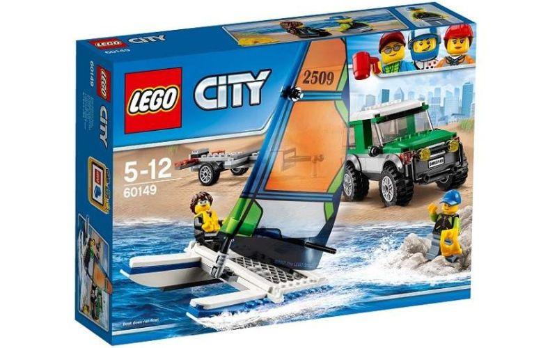 Lego LEGO City 60149 4x4 s katamaránem