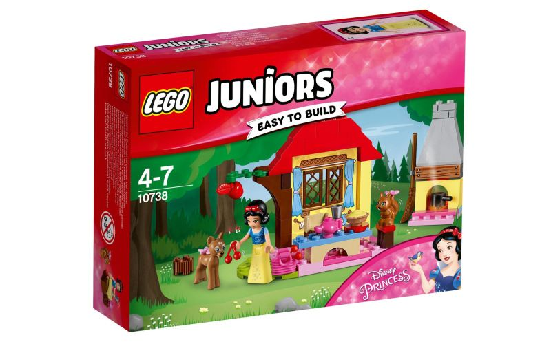 Lego LEGO Juniors 10738 Sněhurčina chaloupka v lese