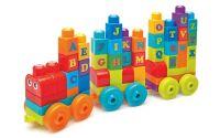 Mega Bloks First Builders vláček s písmenky
