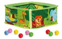 Bazének s balónky, zelený