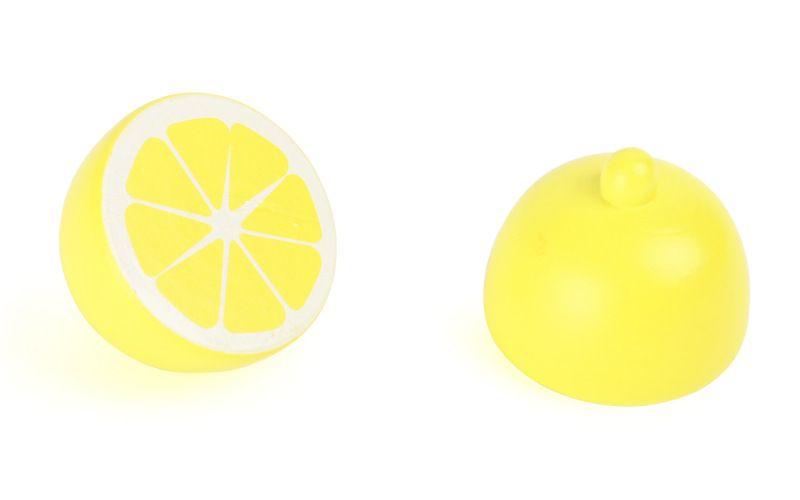 Legler Dřevěný citrón rozkrojený