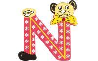 Písmeno N s medvídkovým klaunem