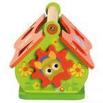 Vkládačka dřevěný domeček