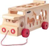 Woody Skládací kamion se zvířaty